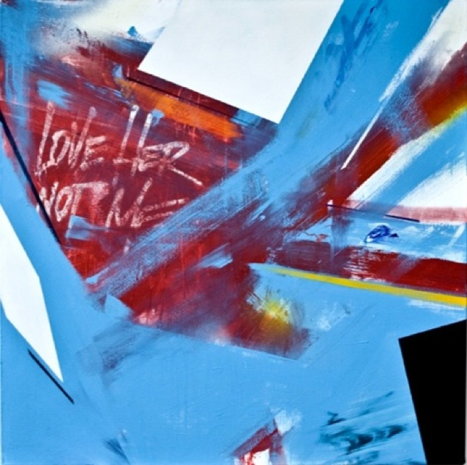 love-her-not-me-matt-emulsion-spray-paint-on-canvas-137x137cm