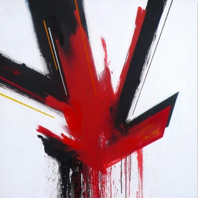 untitled-matt-emulsion-spray-paint-on-canvas-100x100cm